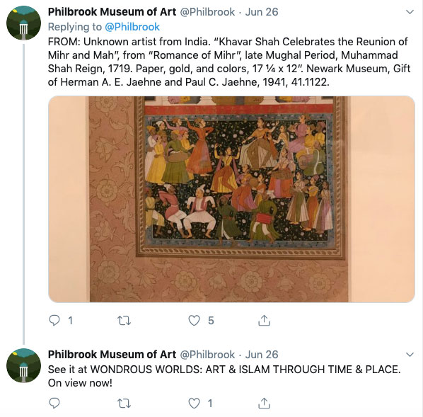 Twitter philbrook museum