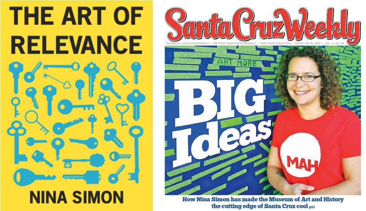 Nina Simon'a book The Art of Relevance