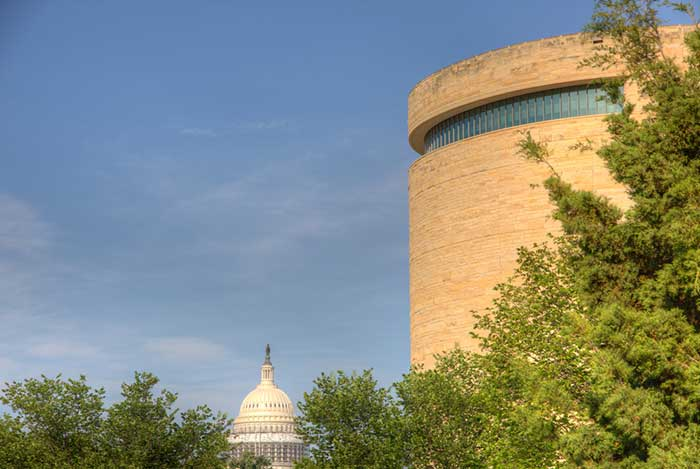 National Museum of the American Indian takes sustainability seriously