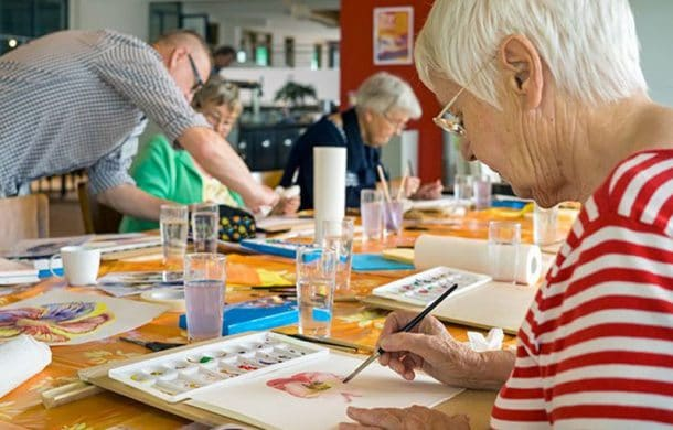 art and dementia