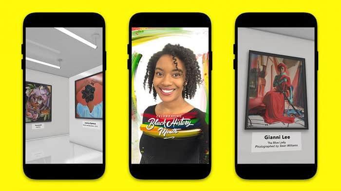 Snapchat Gallery of Black Art