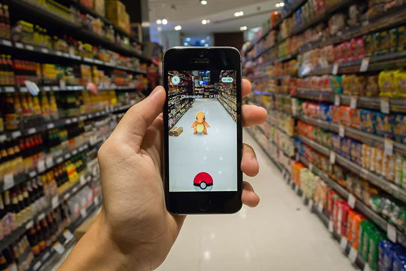 Augmented Reality game Pokemon Go