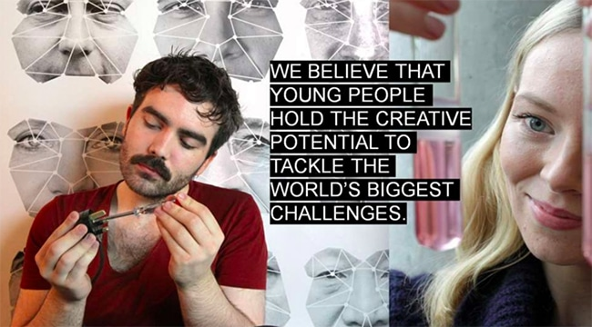 Young people hold the creative potential to tackle the world's biggest challenges