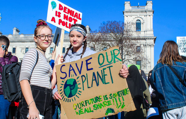 youth climate strike museums