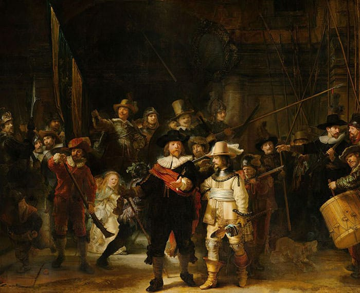 Night Watch at Rijksmuseum