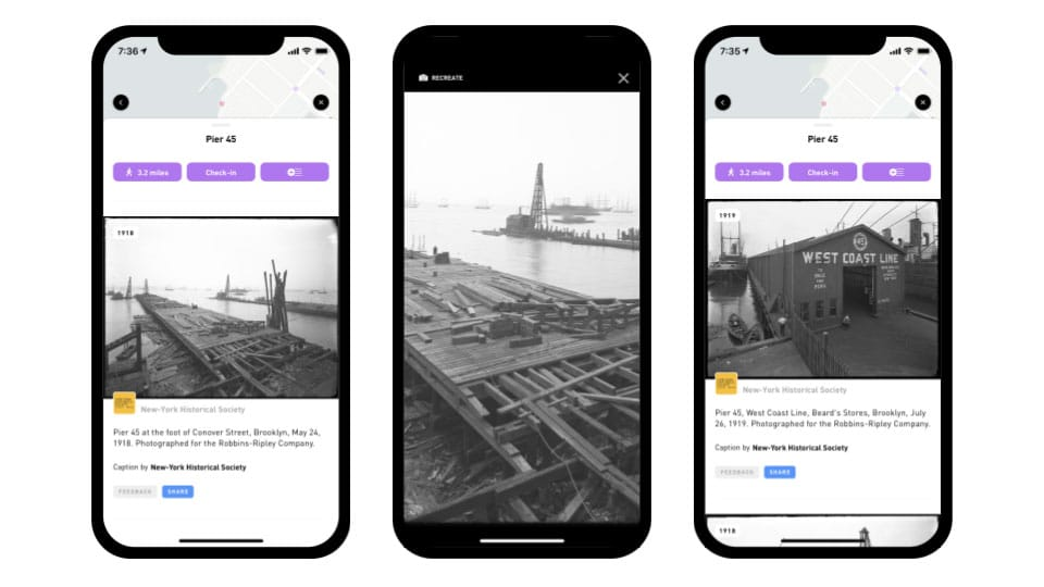 Urban Archive app