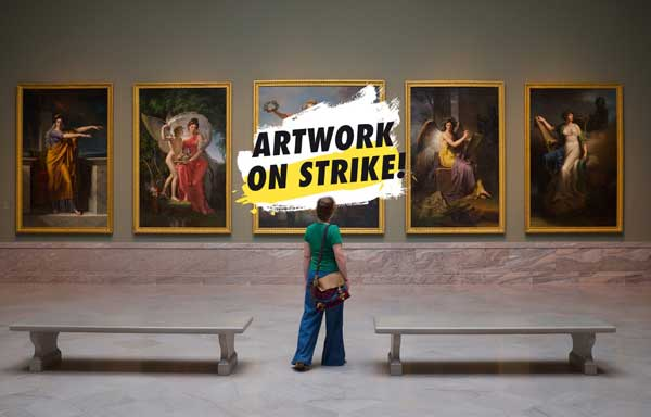 artwork on strike