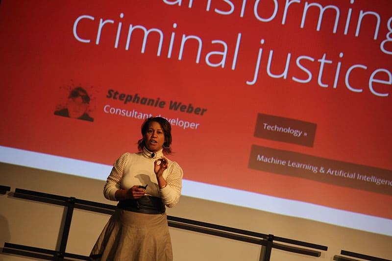 Karen Palmer speaking at MuseumNext NYC