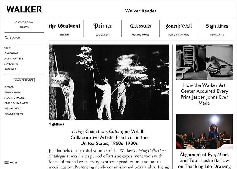 Walker Art Center Magazine