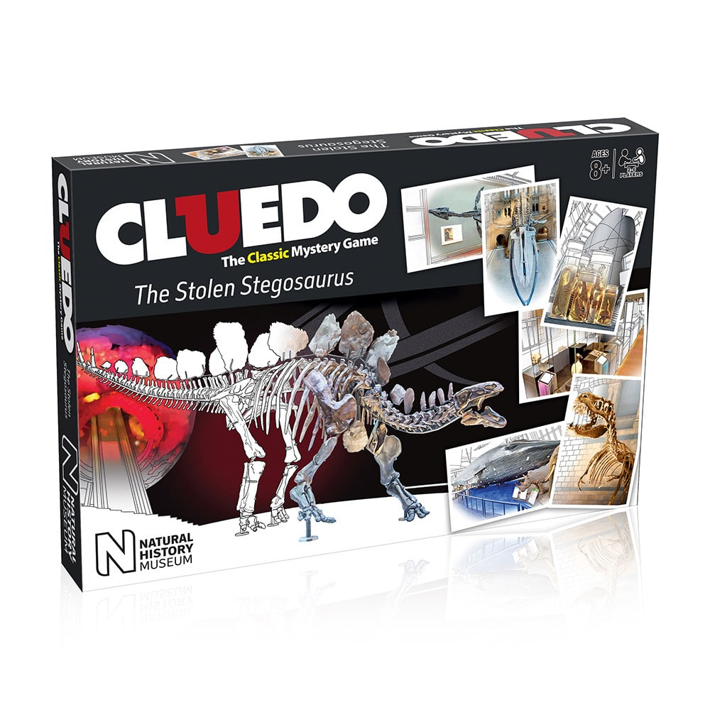 Natural History Museum edition of the Cluedo Game produced under brand licensing deal