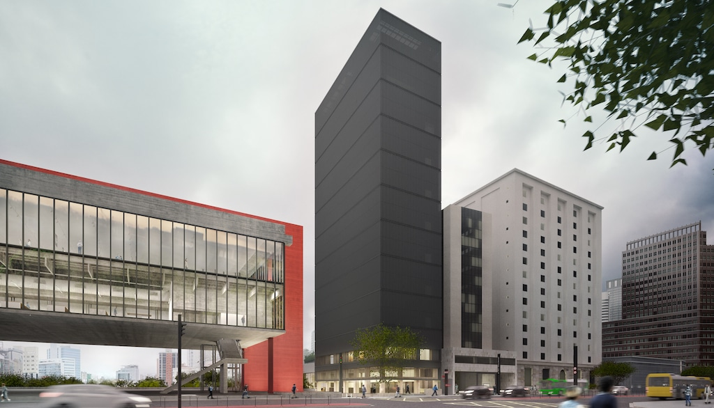The new 14-storey Pietro Maria Building