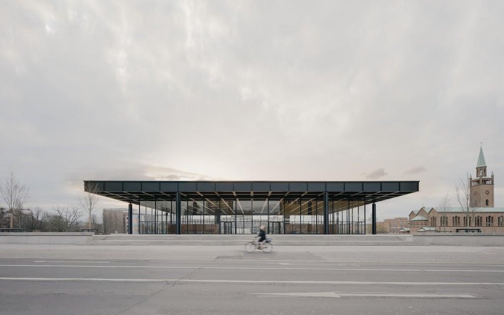 The exterior of the Neue Nationalgalerie