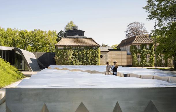 Ordrupgaard art museum's new extension