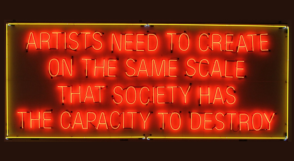 Lauren Bon and Metabolic Studio, Artists Need to Create on the Same Scale that Society Has the Capacity to Destroy, photograph