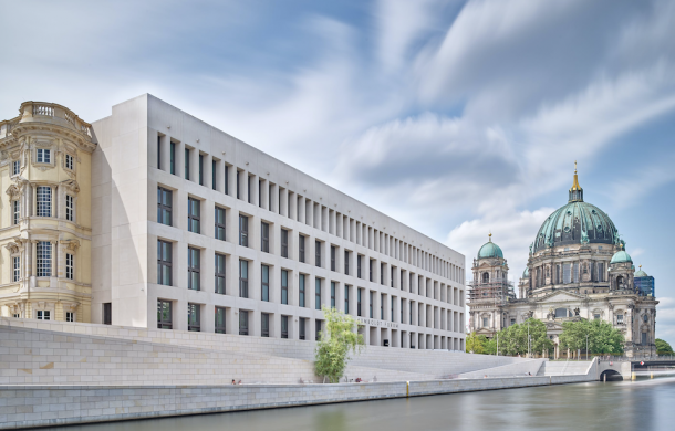 The The Humboldt Forum building