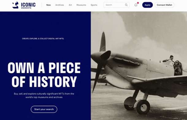 Iconic Moments to launch as first NFT marketplace for museums